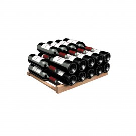 Storage shelf for Bordeaux and Burgundy bottles- Compact range only