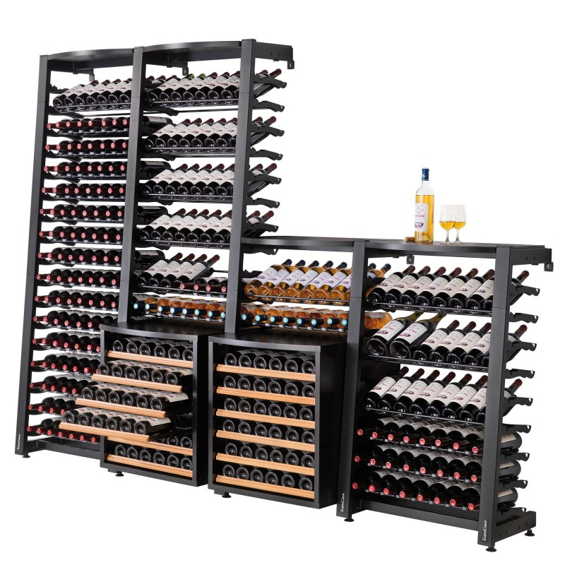 Wine cellar furniture Wine rack storage and furniture wine
