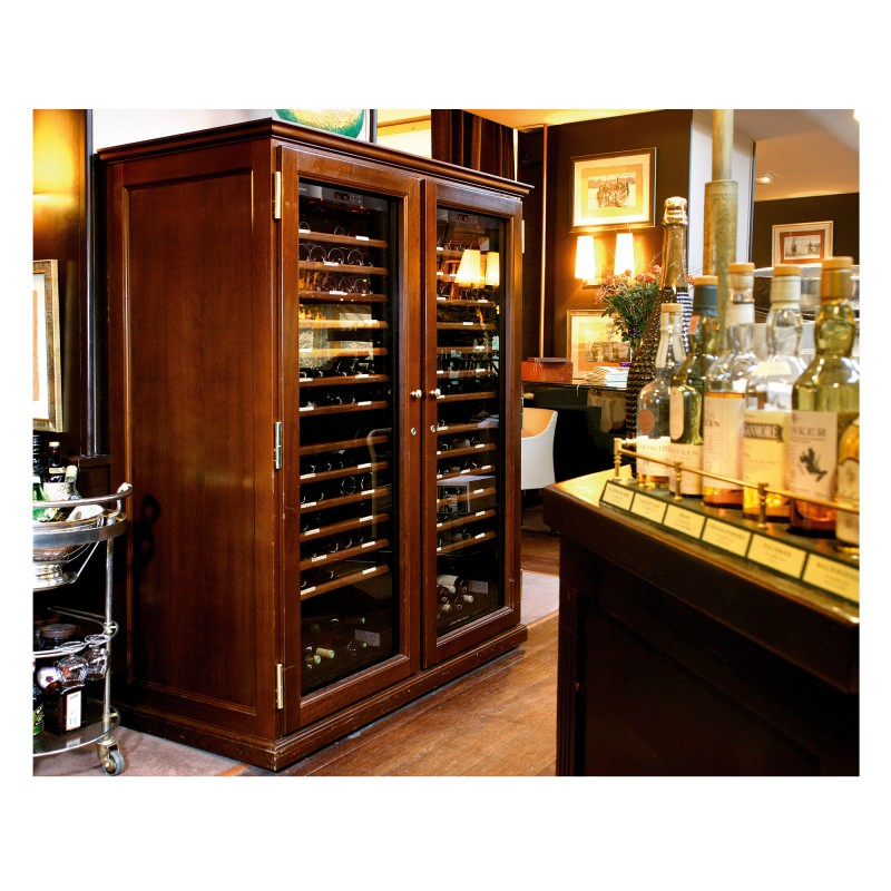 Elite a range of wooden furniture for wine cabinets - Meuble cave a vin en bois ...