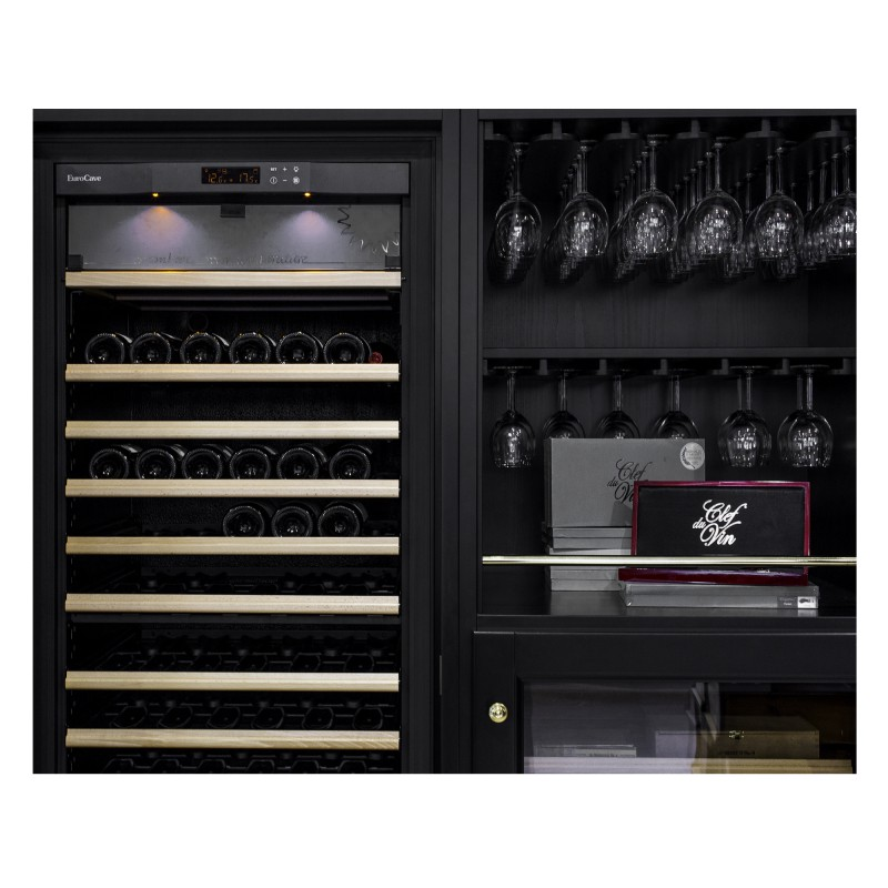 Elite a range of wooden furniture for wine cabinets eurocave - Meuble pour cave a vin ...