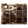 Modulocube - Wine Cellar storage system in beech