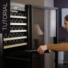 Video tutorial   How to install a Premium sliding shelf in your wine cabinet?