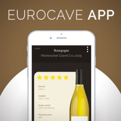New app | Create your virtual wine cellar book