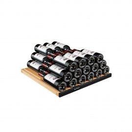 Storage shelf - Glossy black AXUH2B - 77 bottles