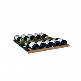 Sliding shelf for 10 Champagne bottles