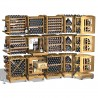 Modulotheque - Wine Cellar modular storage concept in solid oak