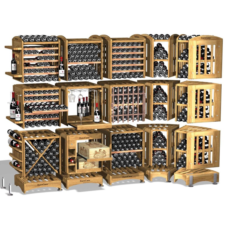 Modulotheque Wine Cellar Modular Storage Concept In