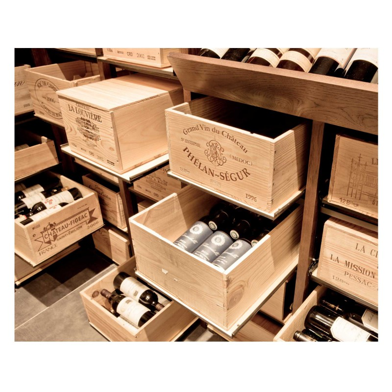 Wine Cases Modulorack Wine Cellar Storage System For