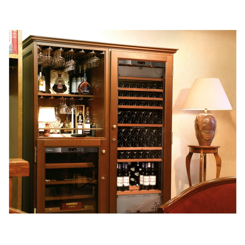 Elite a range of wooden furniture for wine cabinets for Meuble cave a vin