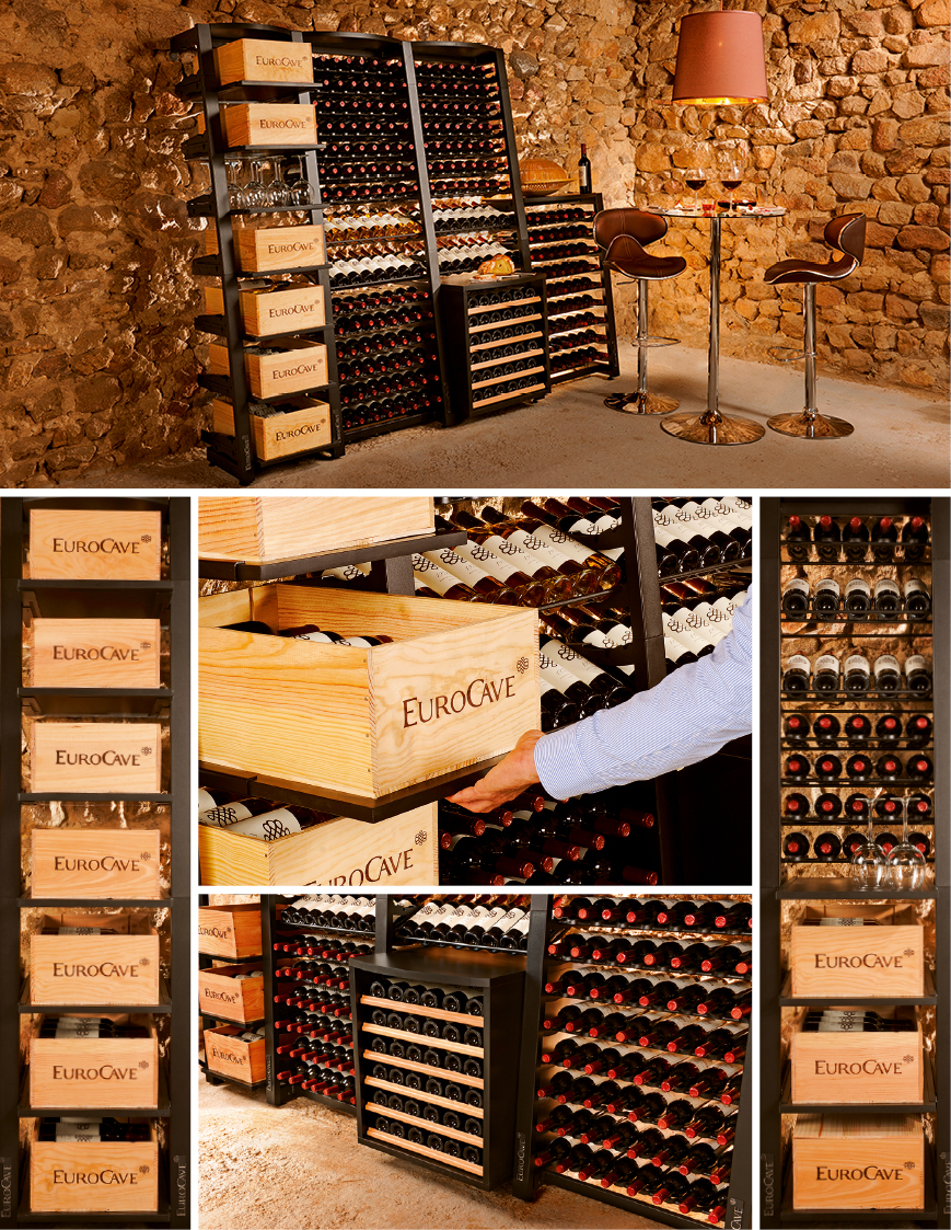 Modulosteel - Modules for wine storage