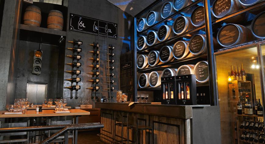 Trendy way of living - Wine by the glass in the restaurantion industry
