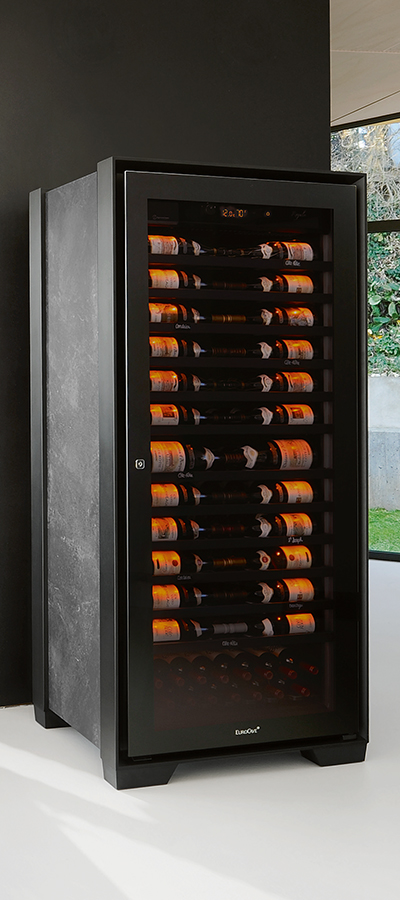 EuroCave Royale, the best wine cabinet in the world with self-monitoring of humidity