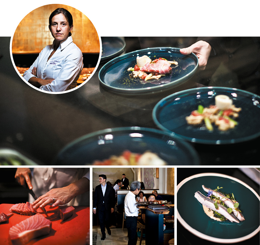 Portrait Meeting With Adeline Grattard Starred Chef Of The Yam
