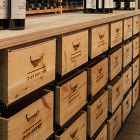 Modular wine storage - Modulorack