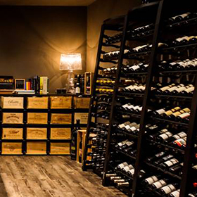 Steel wine storage system - Modulosteel