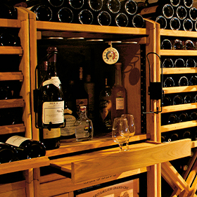 Wine storage system options