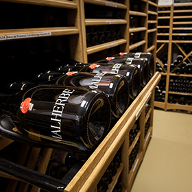 Sort and access you wine bottles easily.