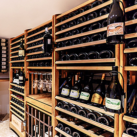 Modular storage cabinet for wine bottles - Modulothèque