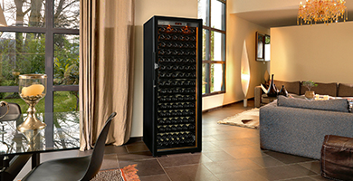 EuroCave Revelation range - This wine cabinet will have an amazing look in your living room. High-end standard equipment, 5 year guarantee.