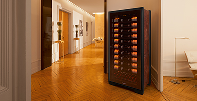 EuroCave Royale range - The queen of wine cabinets, the best maturing wine cabinet in the world. This cabinet is aimed at the wine collectors and the discriminating wine connoisseurs who want to be sure that their wines will always store in the best maturing conditions (perfect temperture and hygrometry).