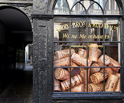 Berry Bros. & Rudd, a wine company founded in 1698 - London