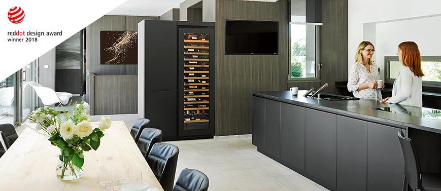 Inspiration is a range of flush-fitted or built-in wine cabinets for your kitchen