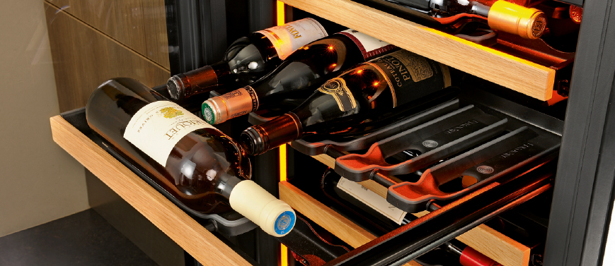Your wine in the best aging and safety conditions