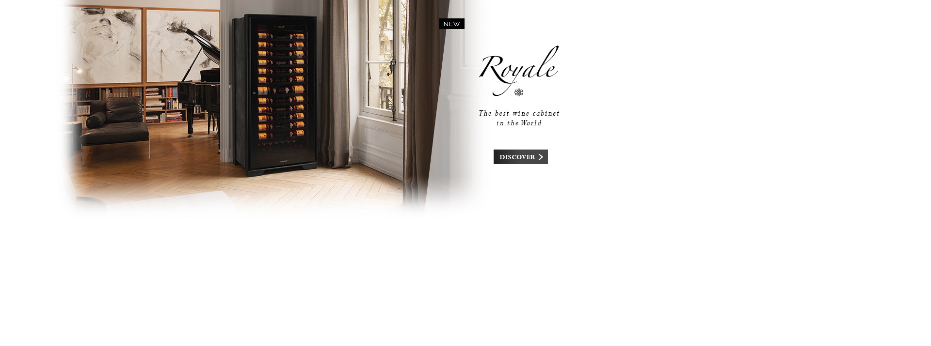 Royale - The best maturing wine cabinet in the world