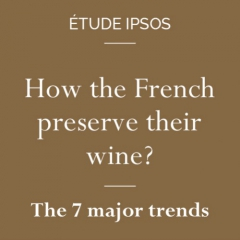 Infographic - How the French preserve their wine? - The 7 major trends