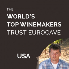 The World's Top Winemakers Trust EuroCave - Jake Fetzer - Vinter at Masút - USA