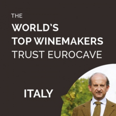 The World's Top Winemakers Trust EuroCave - Lamberto Frescobaldi, Italy