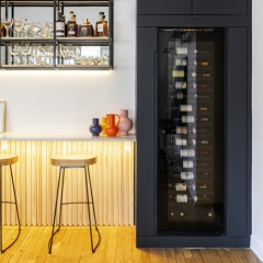 [ DECO TREND ] Project of a wine cabinet integrated in a custom-made bar