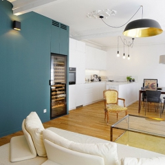 [ DECO TREND ] Wine cabinet in the living-room or kitchen, no need to choose!
